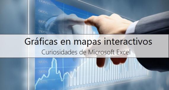 Gráficas con mapas interactivos de Excel