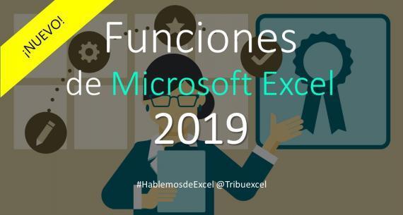 Nuevas Funciones de Excel 2019